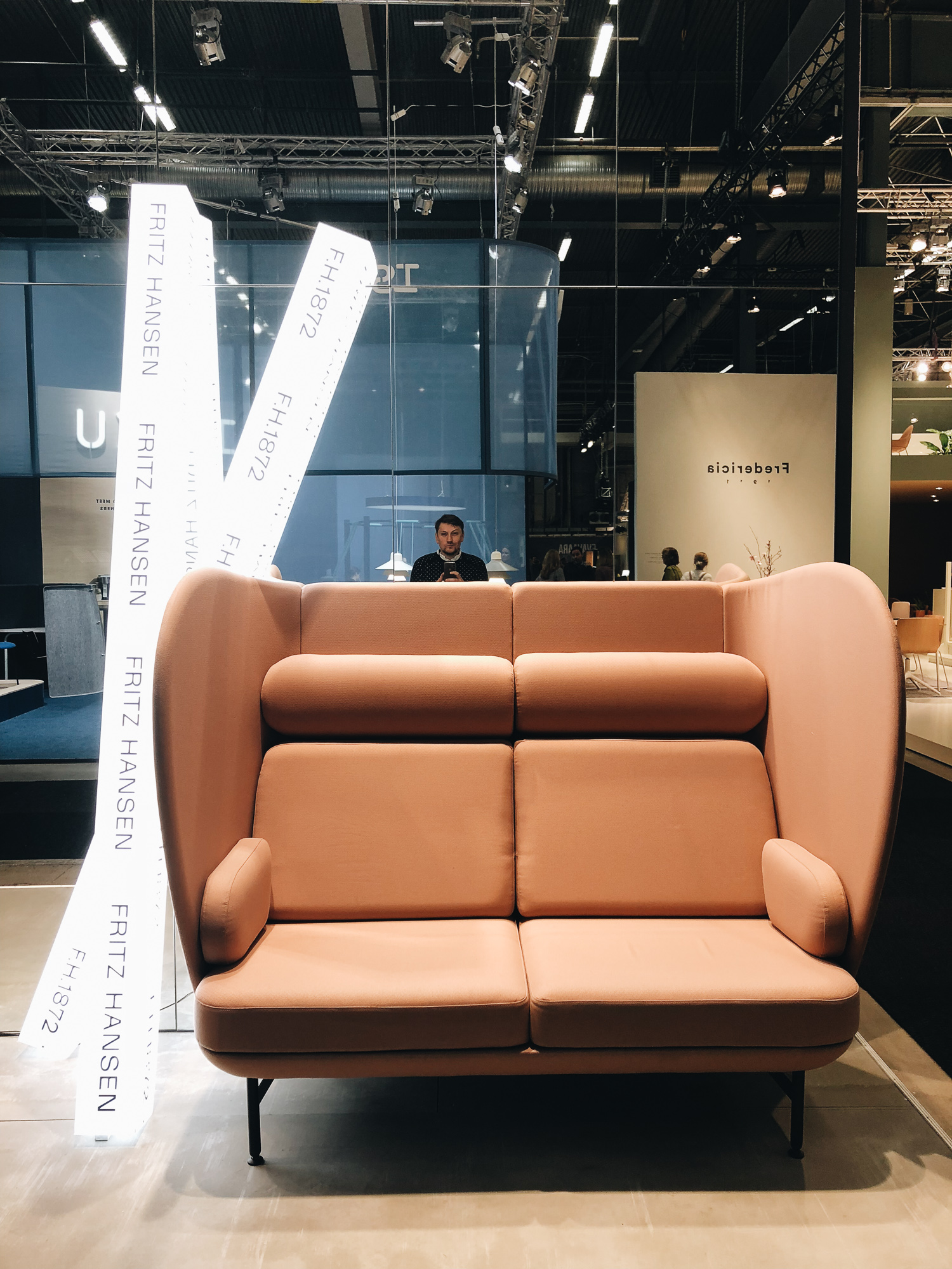 Sofa Realness bei  Fritz Hansen
