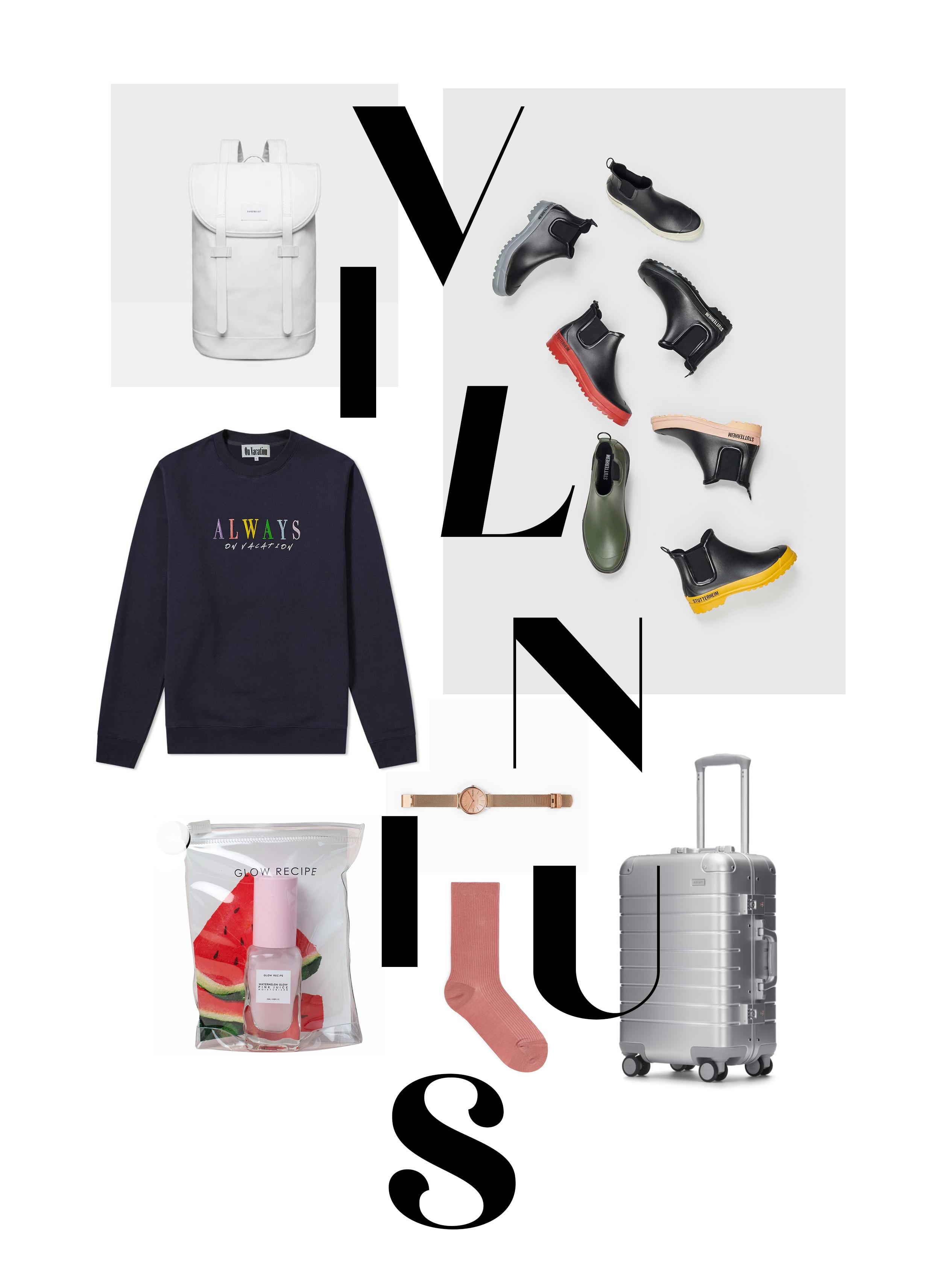 Ich packe meinen Koffer…Vilnius