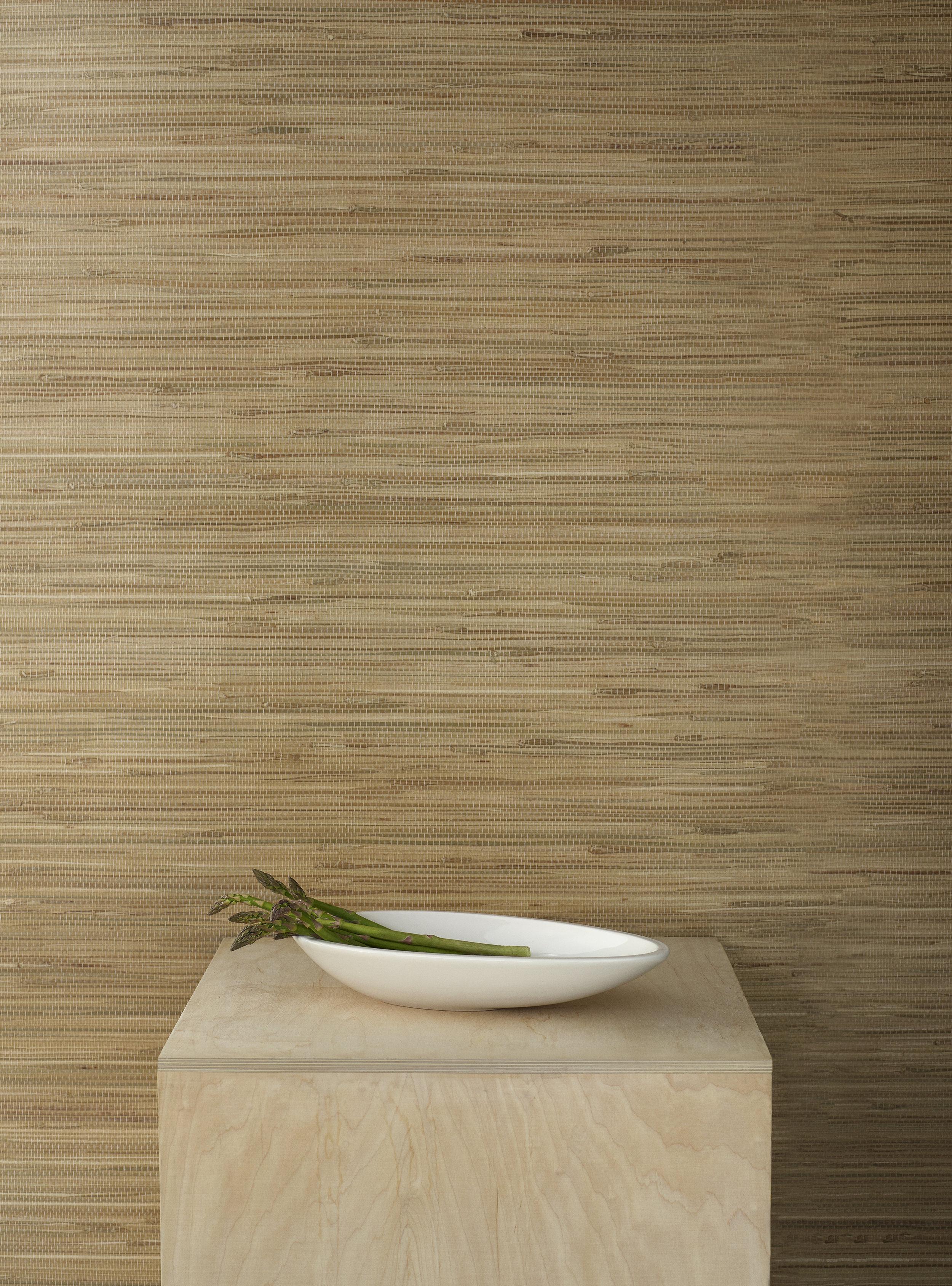 Kokong Platte (35 cm) aus dunkelbraunem bzw. naturweißem Steinzeug, 67.90 EUR