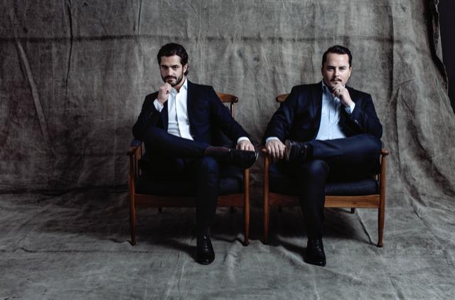 Design-Duo Carl Philip Bernadotte und Oscar Kylberg