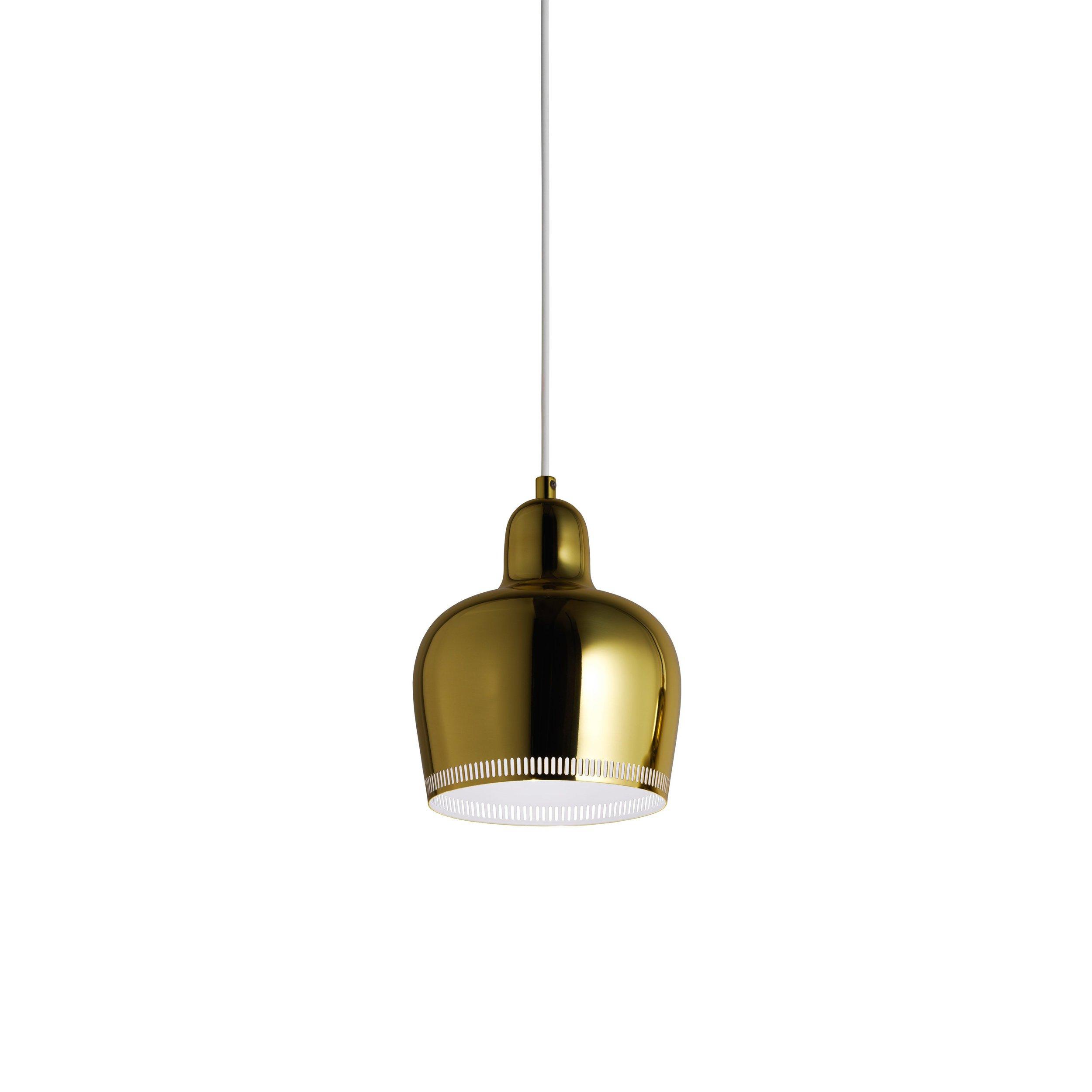 Mehr Licht! Artek Pendelleuchte Golden Bell