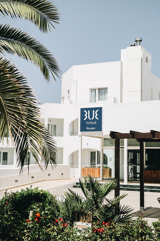 Eingang zum Hotel TUI BLUE Rocador