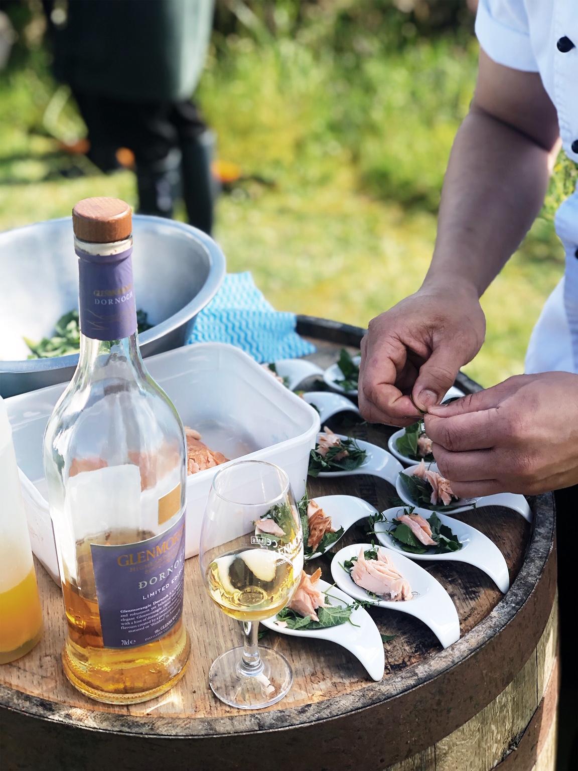 Glenmorangie Herz&Blut Seafood Whisky Tasting