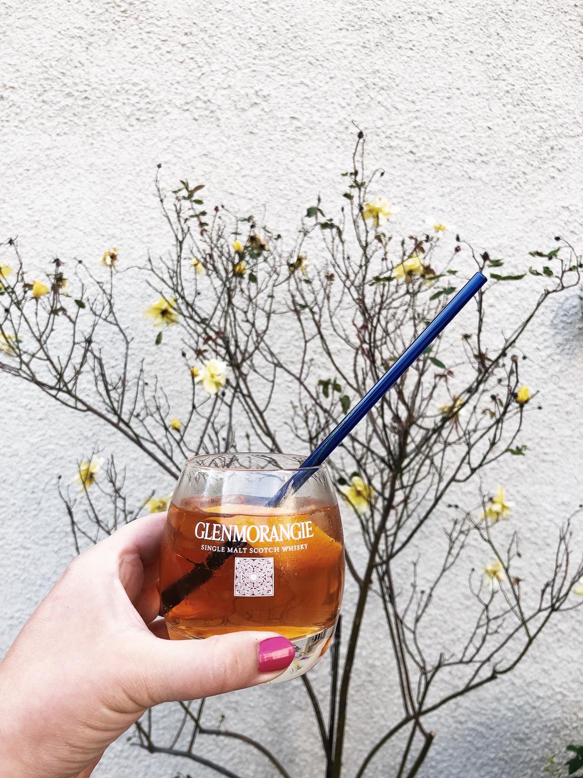 Glenmorangie Herz&Blut Clos19 Strohhalm Whisky Cocktail