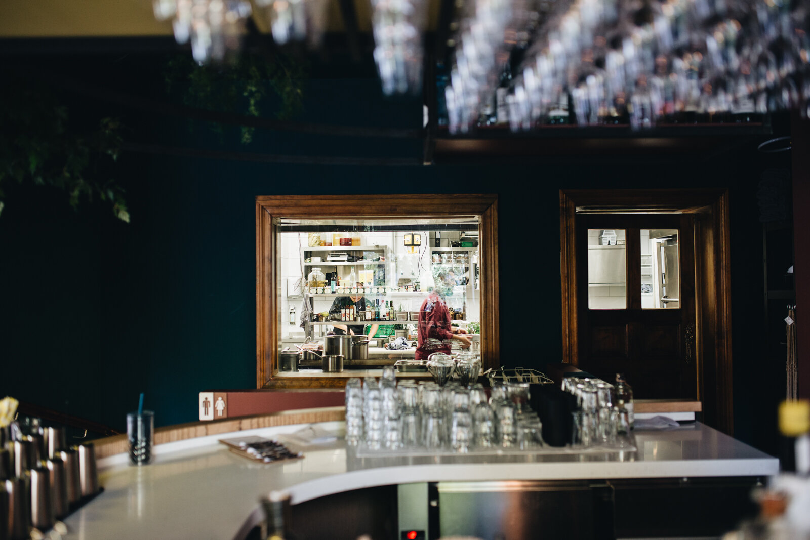 Bonvivant, Bar, Interior
