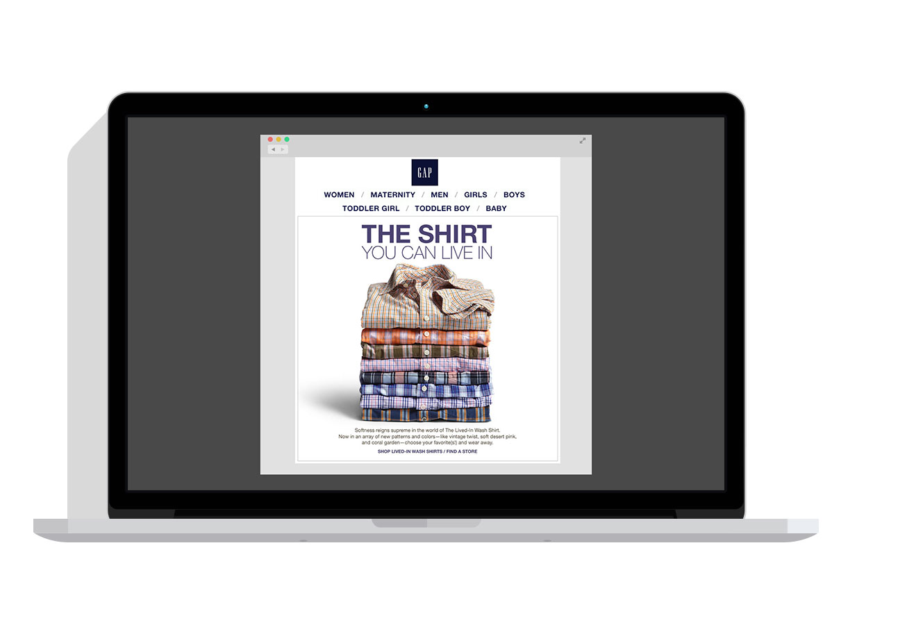 The Lived-in Shirt - A large hero image of the products to show range of patterns and textures.