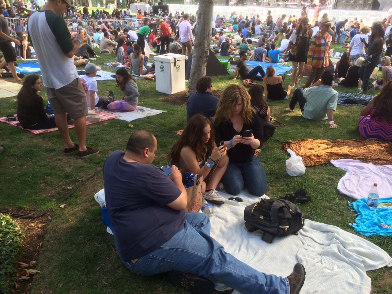 This is HipHop? The Lawn People at the De la Soul show.