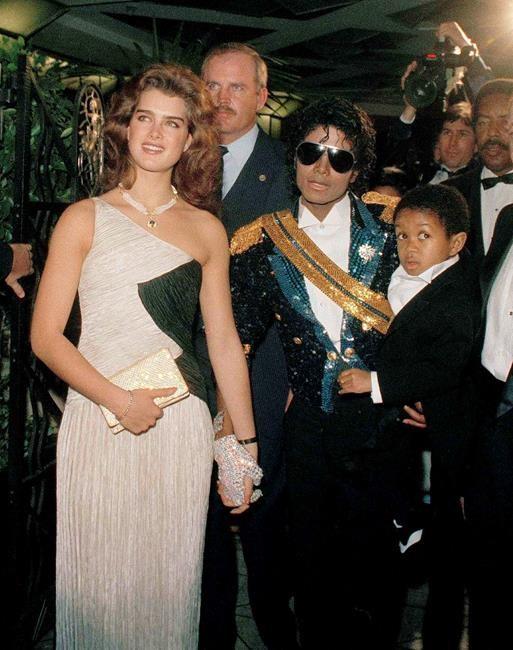 Brooke Shields, Michael Jackson, and Emmanuel Lewis