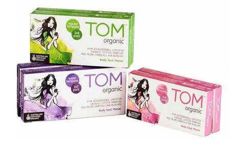 TOM Organic Feminine Hygiene
