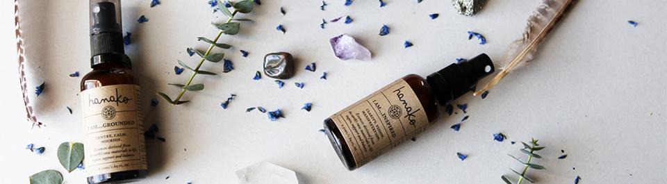 Hanako therapies natural perfume