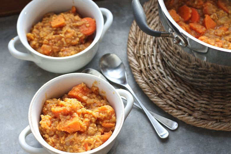 Source: The Compassionate Road - Sweet Potato & Lentil Tandoori Curry