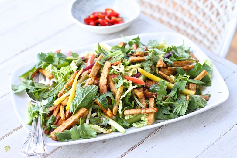 Source: The Compassionate Road - Tempeh Salad