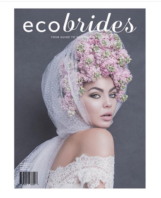 2 Page feature/interview in eco bride  s