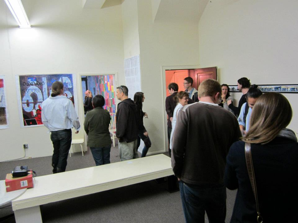 Opening of group exhibition