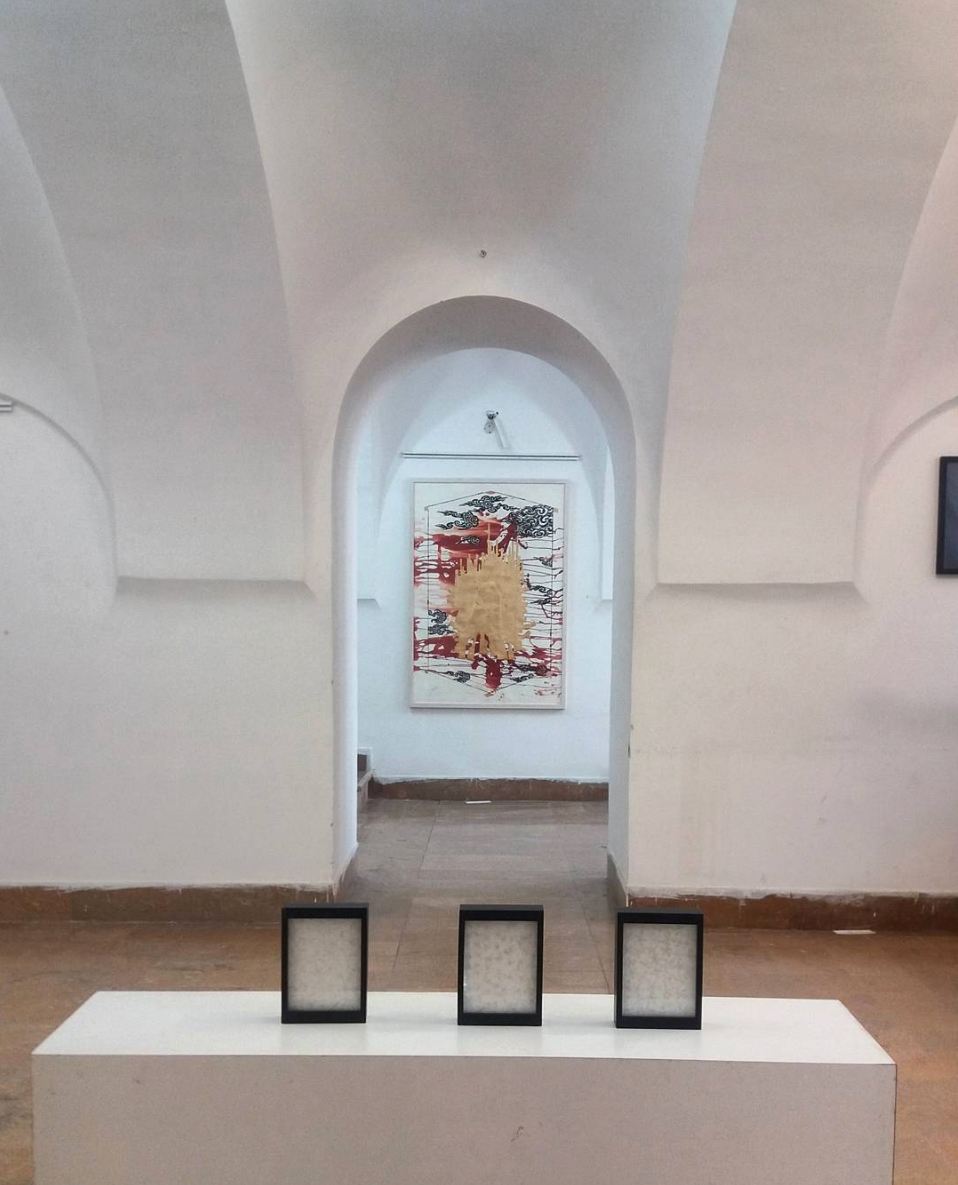 City of Jasmine   installation view, Isfahan Museum of Contemporary Art (Isfahan, Iran) December 2016  Image:  https://www.instagram.com/icabiennale/