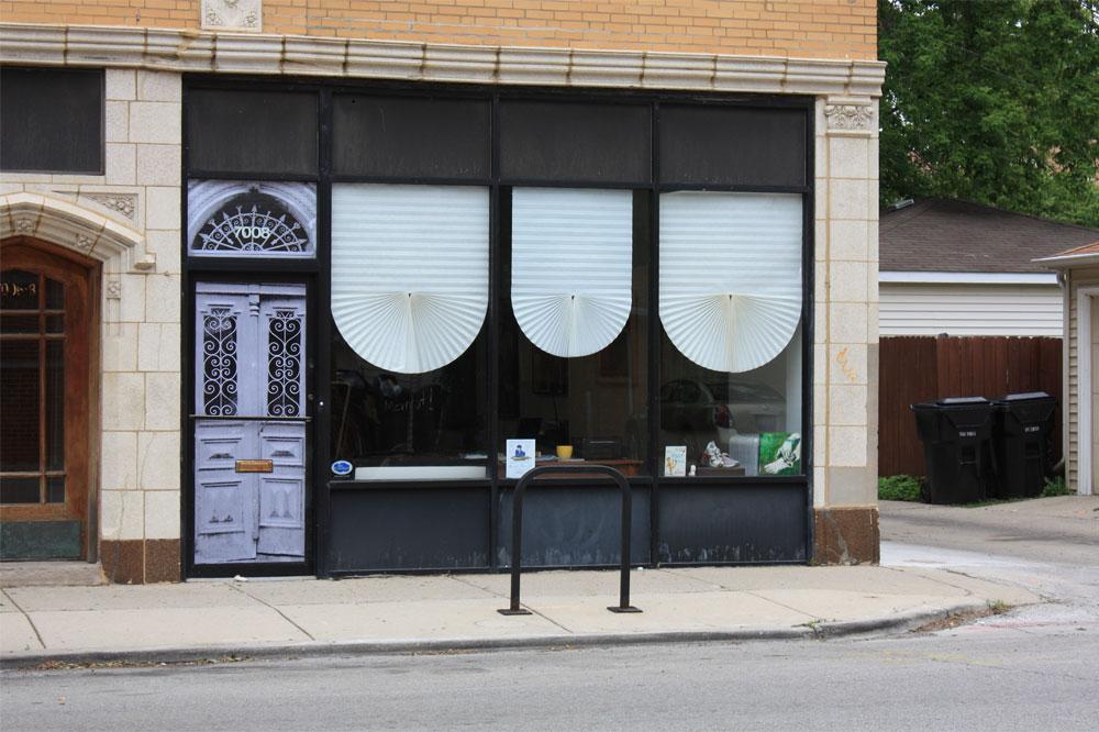 Between two doors, installation view, 2011