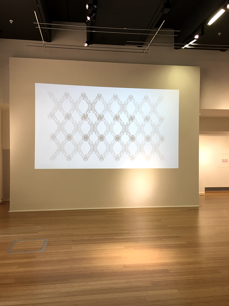 Installation view at City Gallery, San Diego (December 2017)