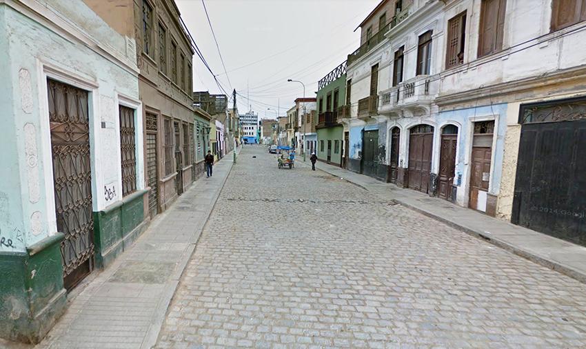 Jiron San Martin, Callao, Peru
