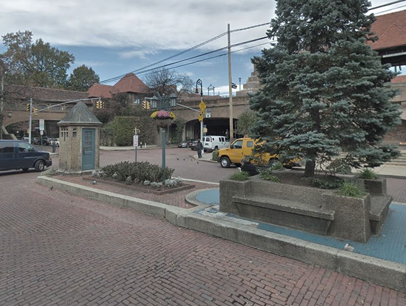 Forest Hills Station, Queens  Images: Google Street View