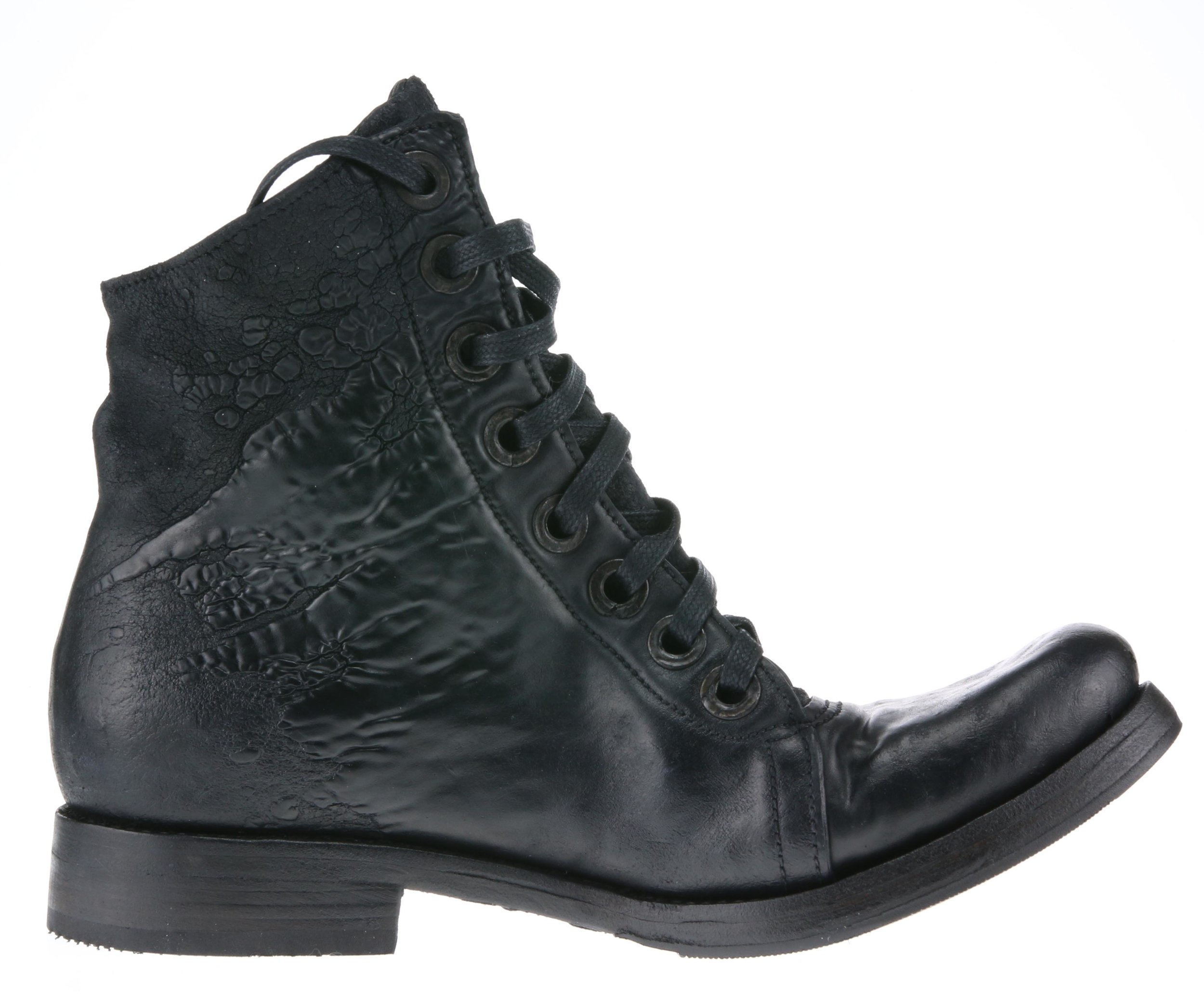 8Hole Work Boot Black Culatta