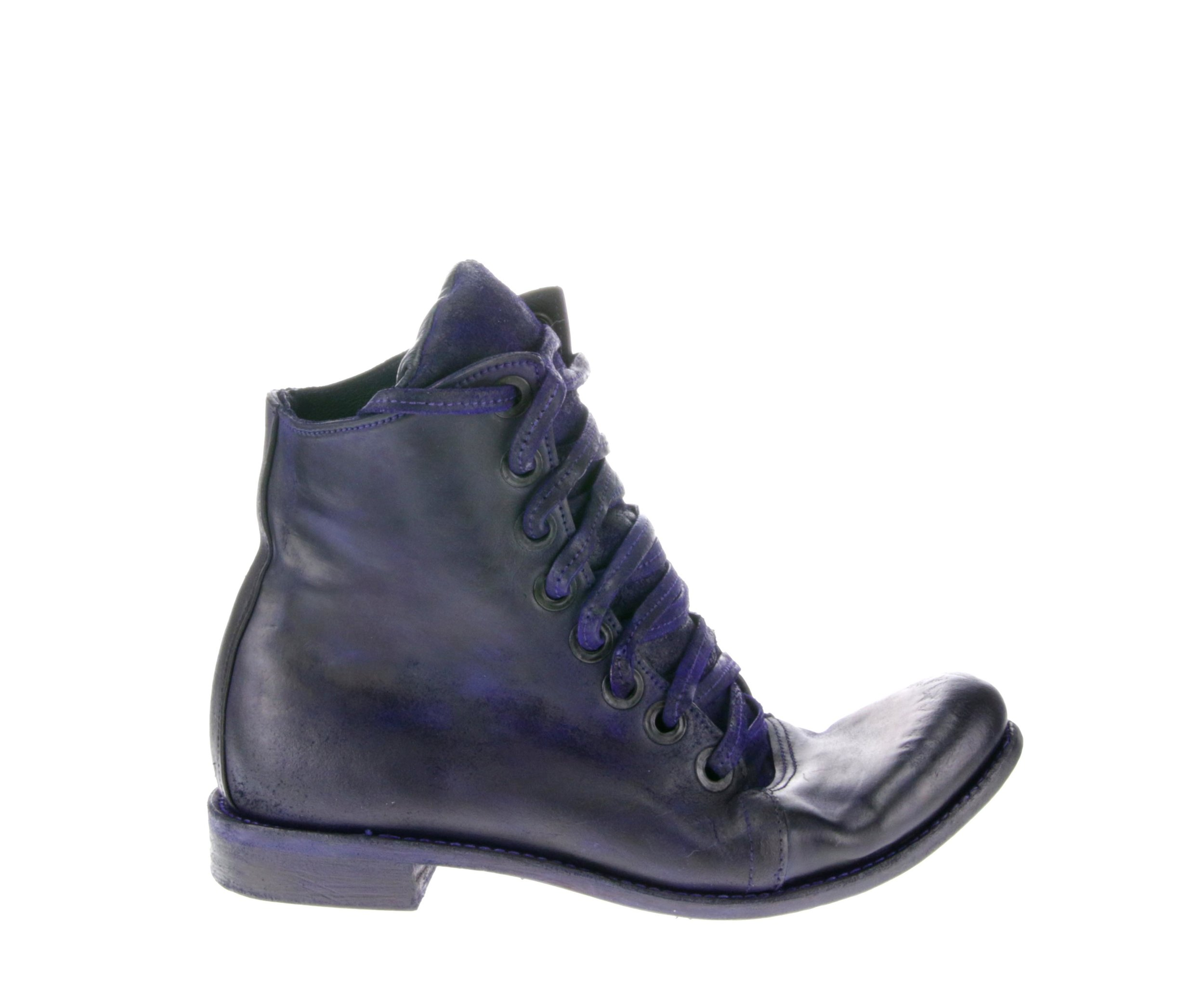 8Hole Work Boot Deep Purple