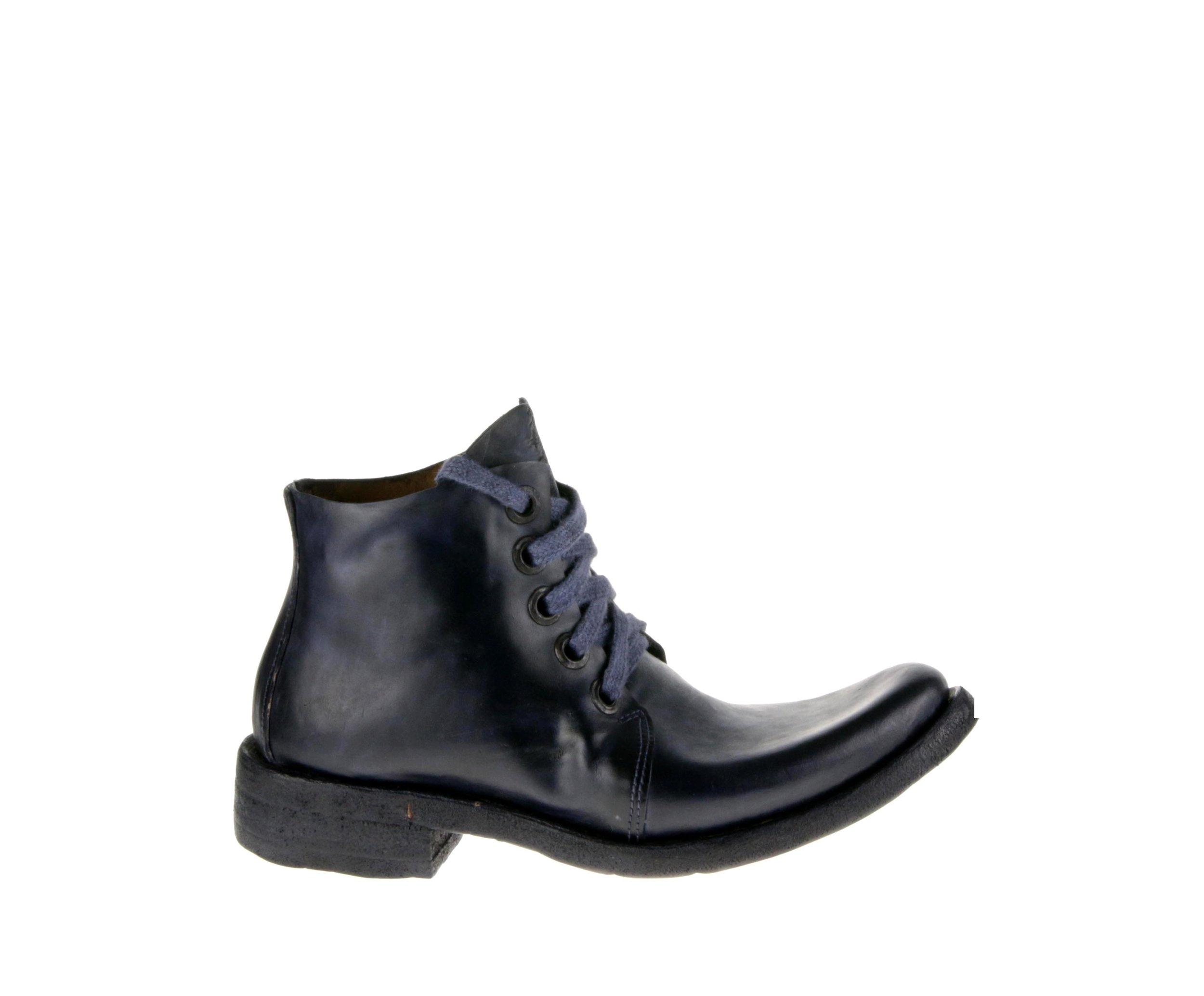 5Hole Boot Cordovan Navy Blue