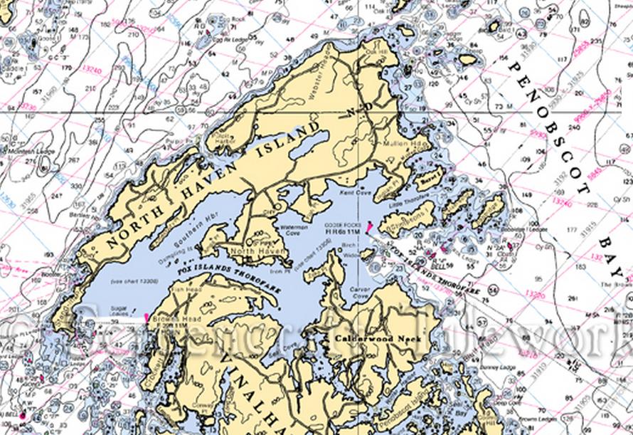 North Haven Maine Chart