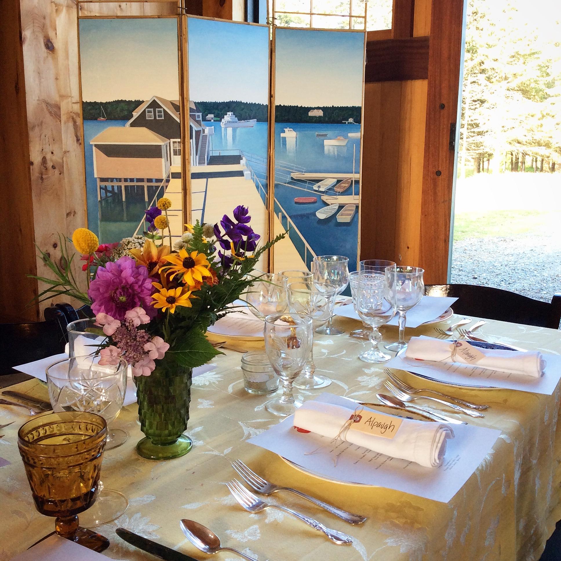Nebo Lodge Barn Supper