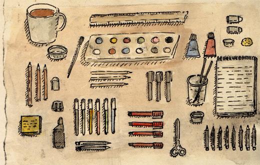 Day 10 - Desk Objects.jpg