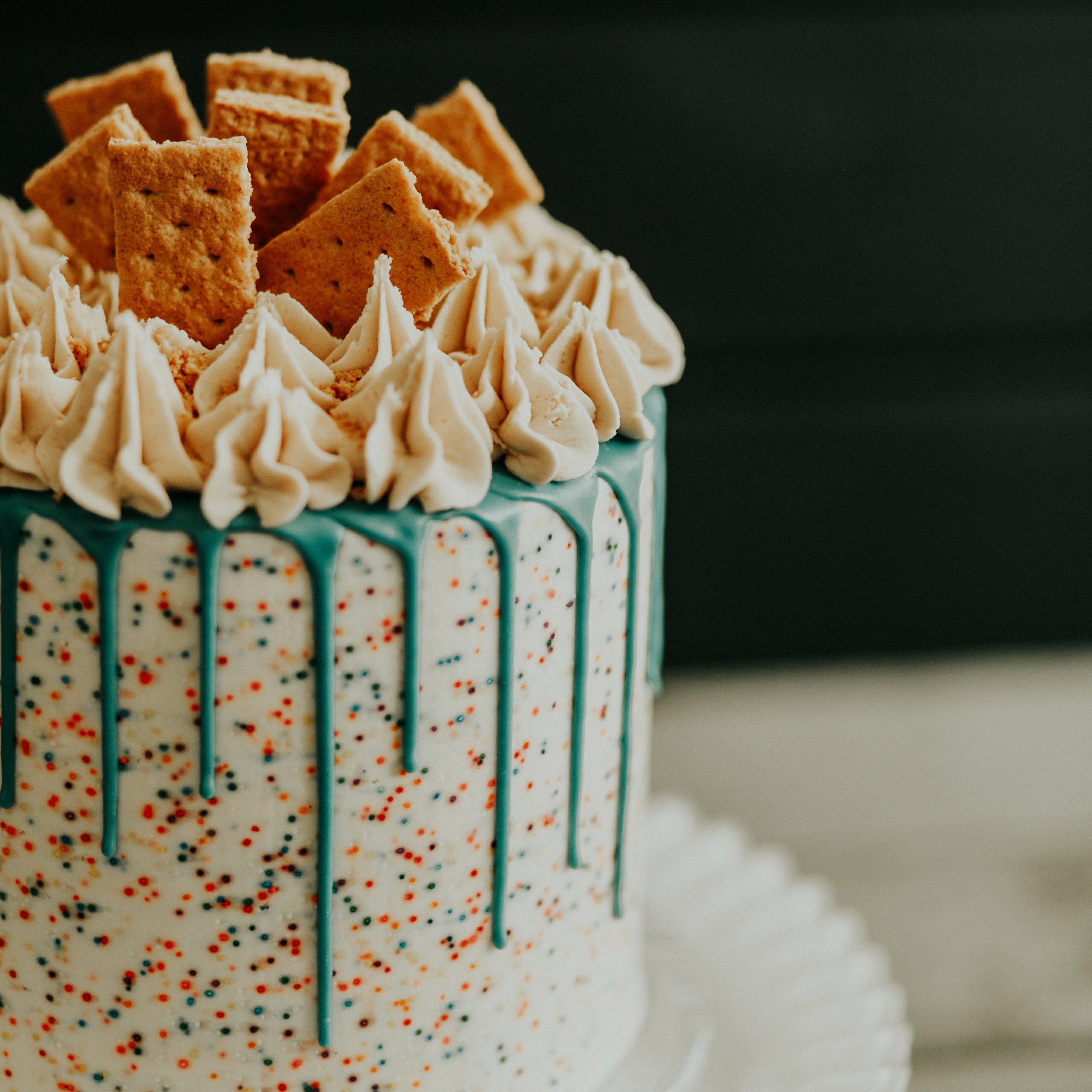 ORDER OUR STANDARD TALL CAKES. - You can now order our tall cakes with chocolate drips. Our cakes feed between 5-50 people. Click below to see our options! Remember all vegan and always good!
