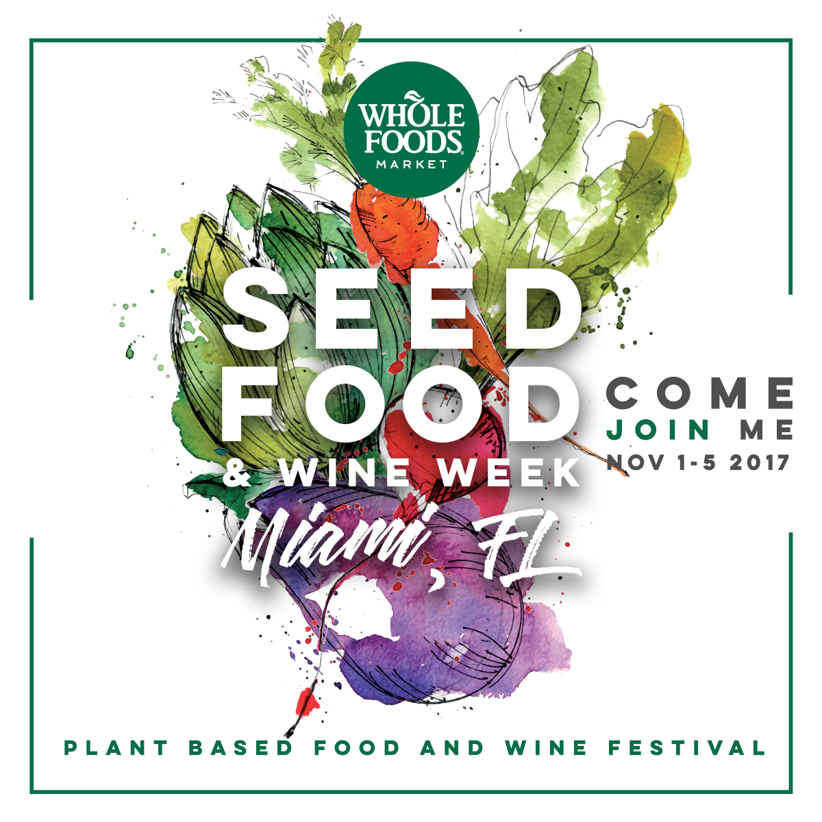 tasting village - We will be at Seed Food & Wine's Tasting Village on Nov. 4 2017. Get your tickets and join us!