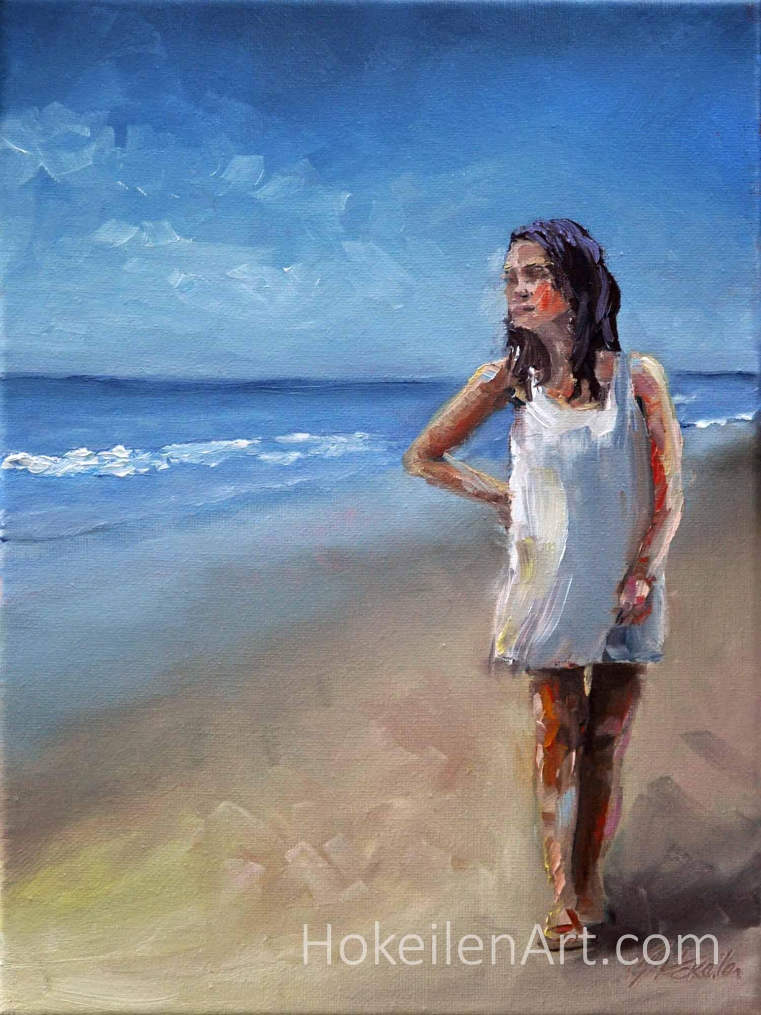 Eirene - oil on canvas 12