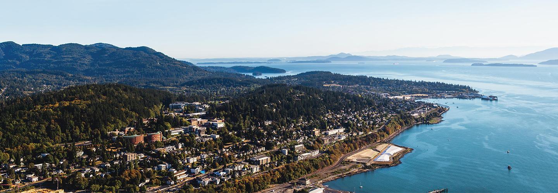 Western Washington University Campus near the waterfront!