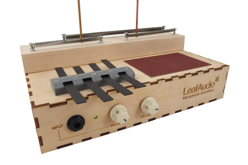 Leaf Audio Michrophonic Soundbox dreamy.