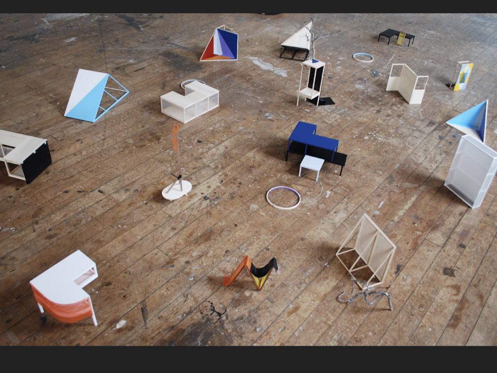Still lives, material explorations, 2009