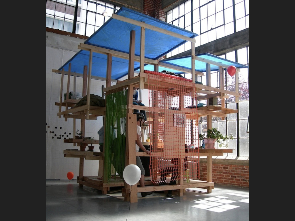 We will all wake up together, We-house, 2006