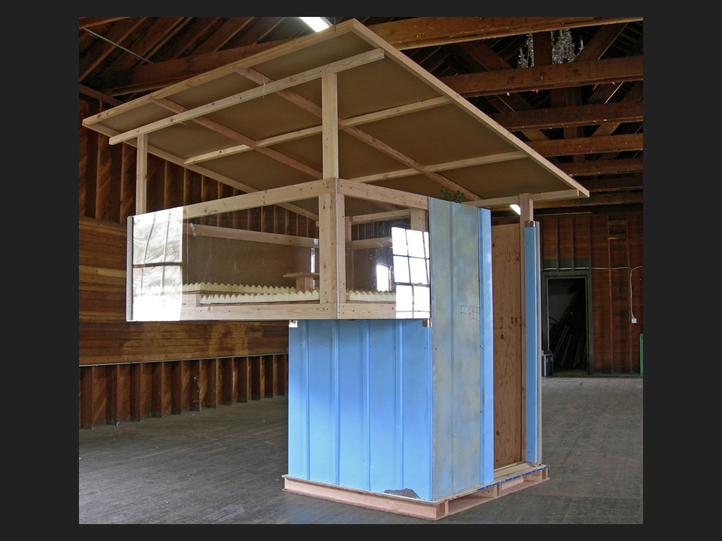 Free-shed with addition, 2005 - 2008.