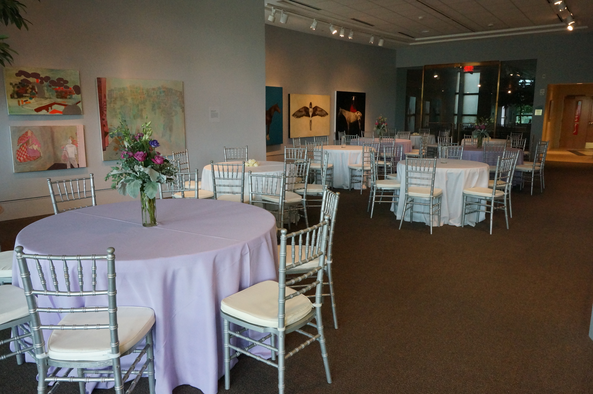 Wedding venues art museum