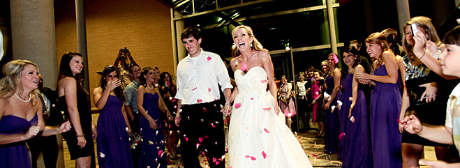 Wedding reception photo from Mobile Museum of Art in Mobile, Al