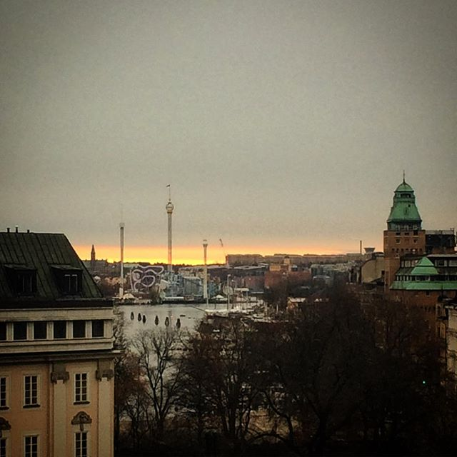 #sthlm  #norrmalmstorg view from the office