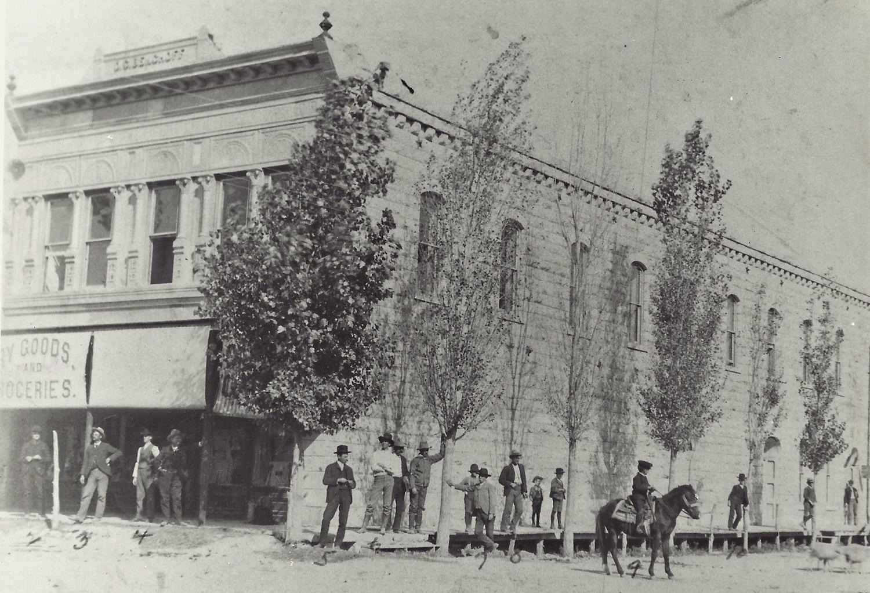 Benchoff Building circa 1907