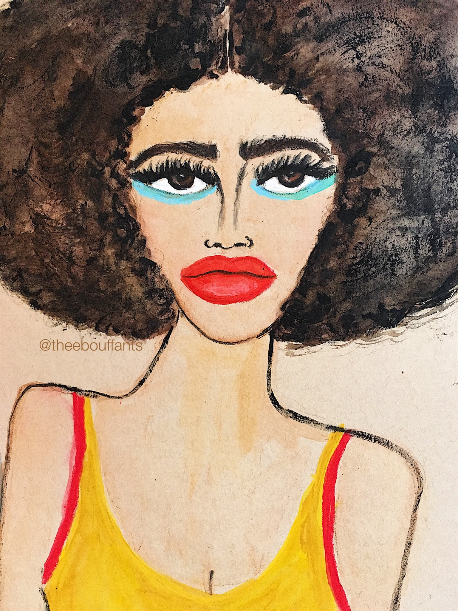 Illustration of Tierra Benton by Kendra Dandy