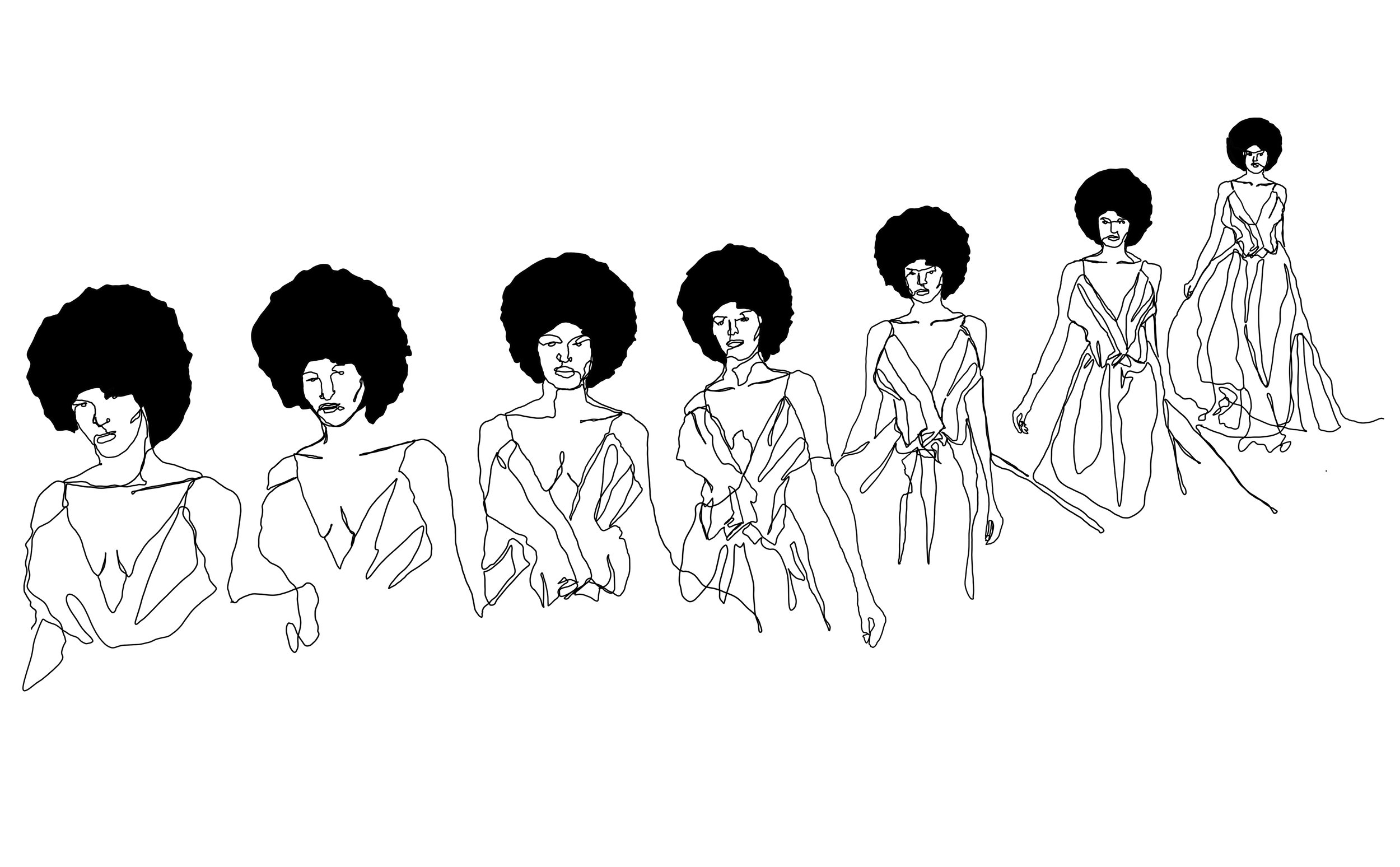 An Illustration of Model and wellness advocate, Tierra Benton