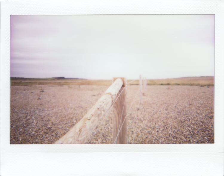 A fence, Salthouse
