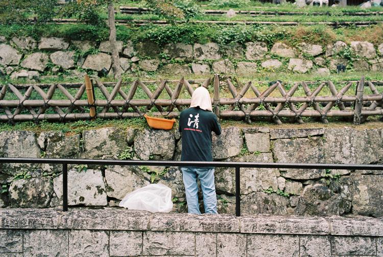 Gardener, Kiyomizu-dera