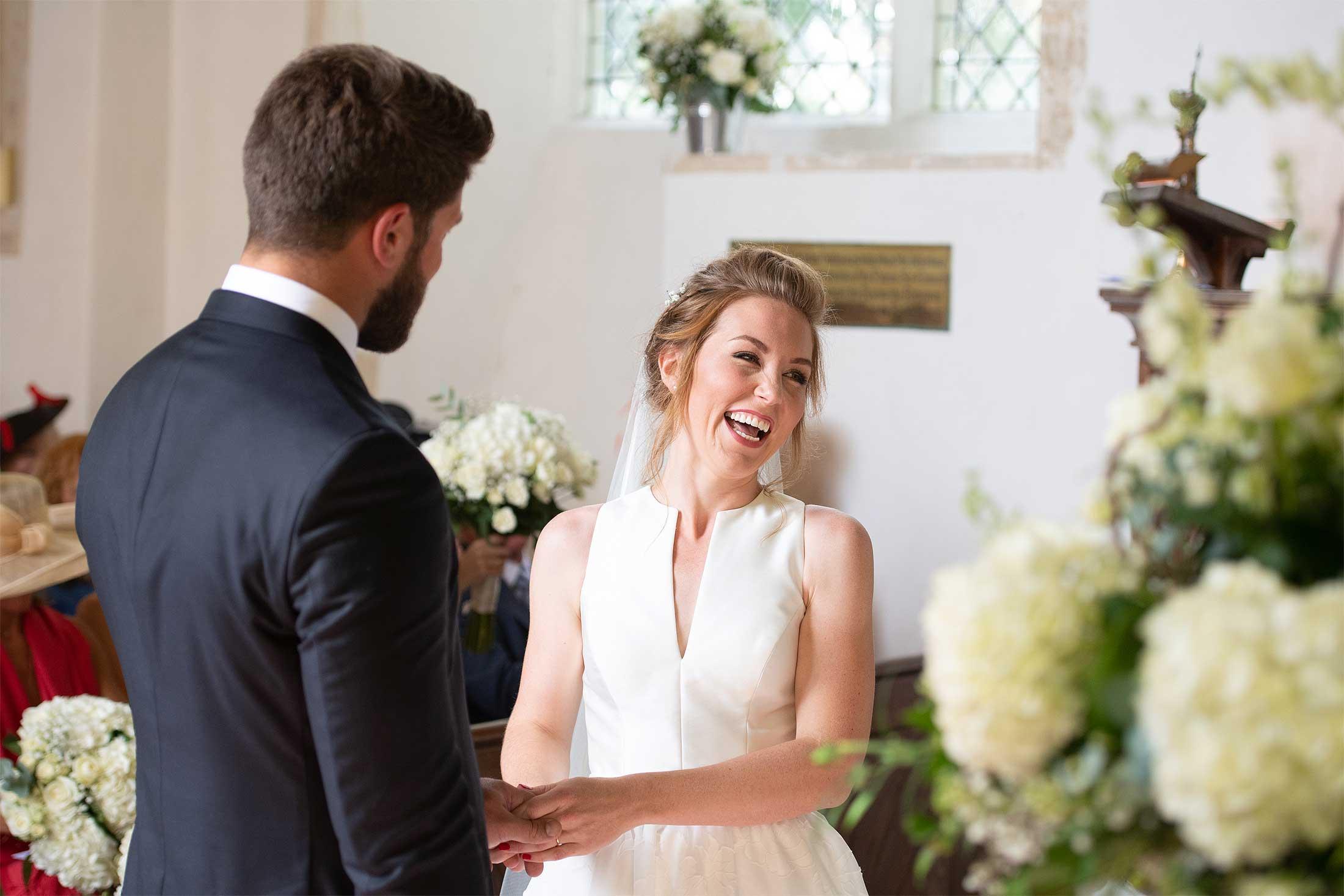 Church wedding in Norfolk