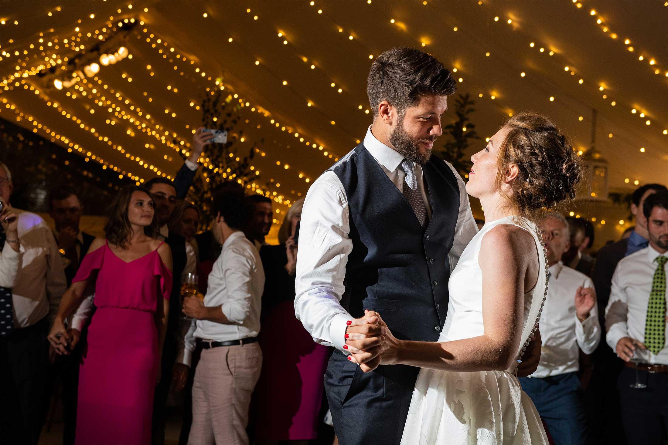 Wedding first dance photo
