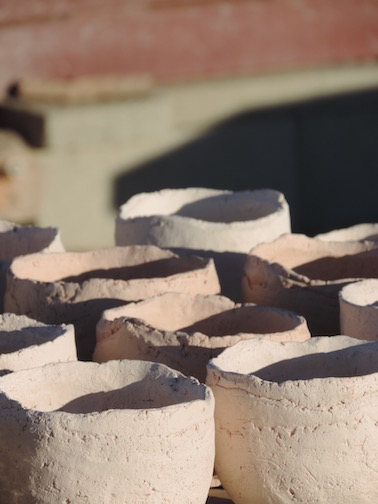 Wood Firing in 29 Palms, Sierra Nevada Clay Tea Bowls