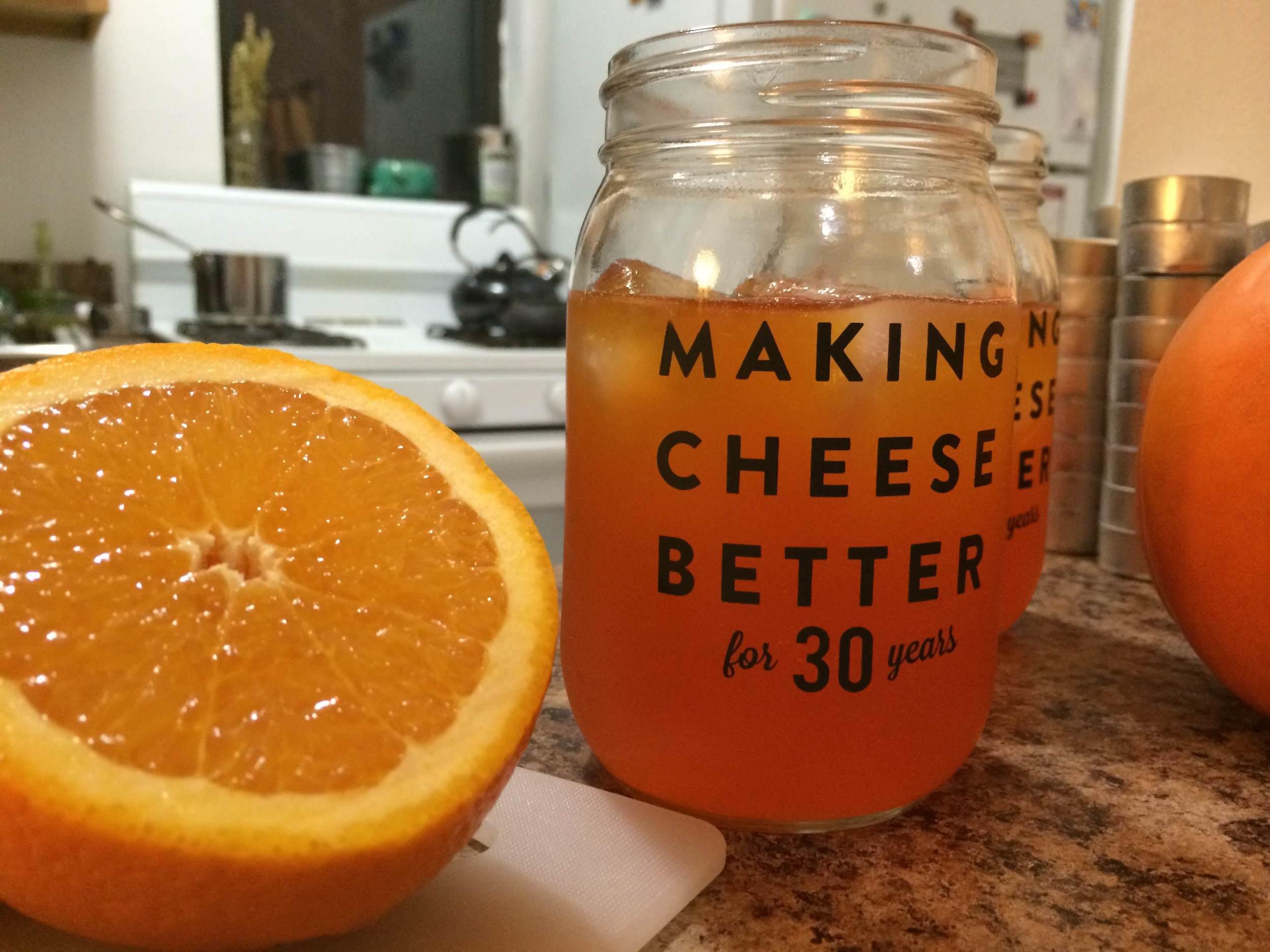 Not-So-Bloody Orange Cocktail
