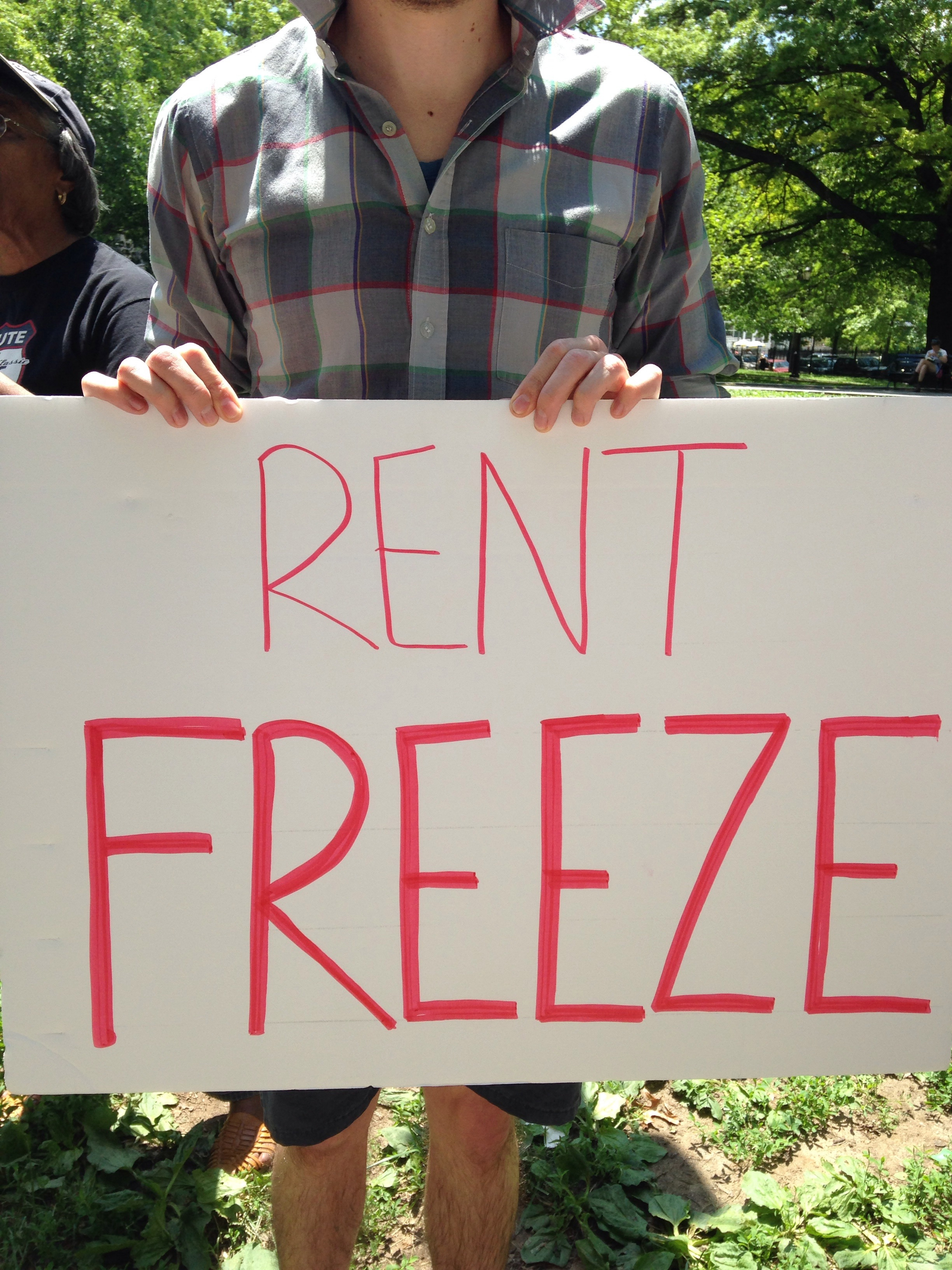 Clear message from tenants